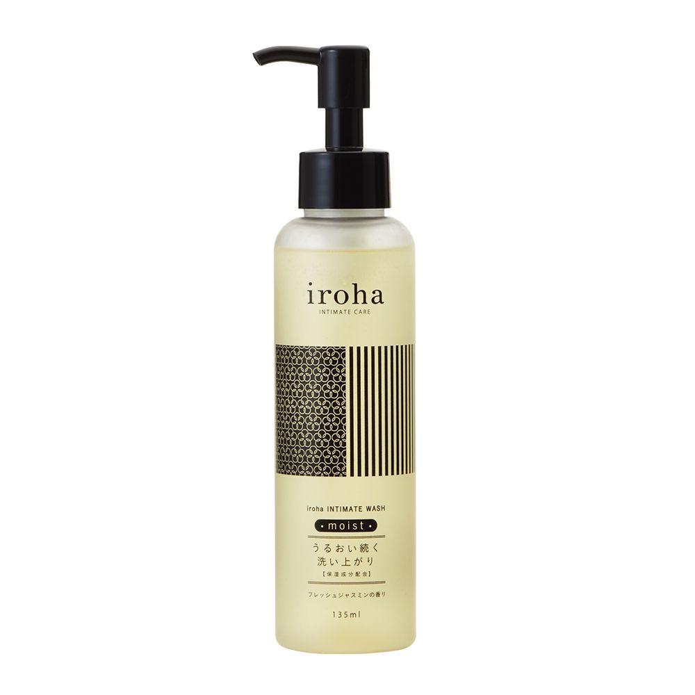iroha INTIMATE CARE iroha INTIMATE WASH moist フレッシュジャスミンの香り 135mlのバリエーション1