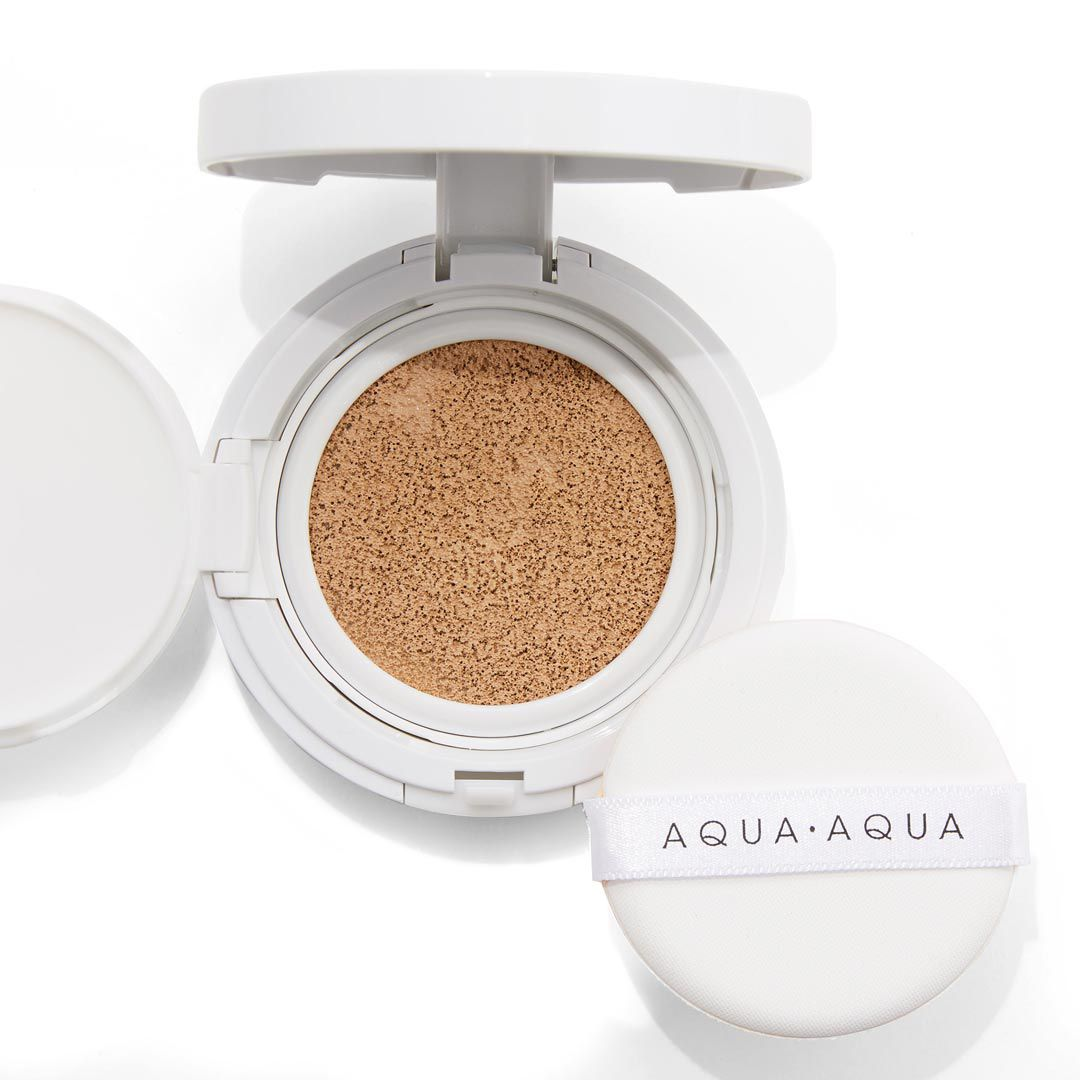 アクア・アクア AQUA AQUA オーガニッククッションコンパクト SPF35 PA+++ リフィル ライトベージュ 9.0gのバリエーション2