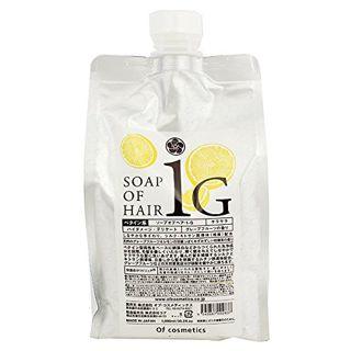 オブ・コスメティックス オブ・コスメティックス Of cosmetics ソープ オブ ヘア・1-G エコサイズ 1000ml グレープフルーツの香りの画像