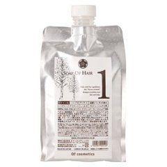 オブ・コスメティックス オブ・コスメティックス Of cosmetics ソープ オブ ヘア・1 エコサイズ 1000ml 白樺(バーチ)の香りの画像