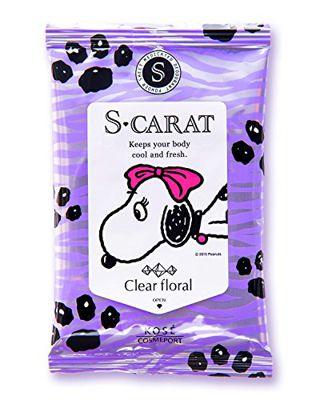 エスカラット エスカラット 薬用デオドラント パウダーシート (クリアフローラル) 12枚 クリアフローラルの香りの画像