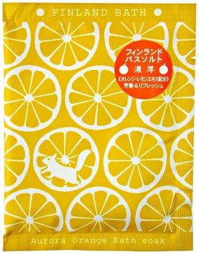 チャーリーのチャーリー CHARLEY フィンランドバスソーク オーロラオレンジ 50g オレンジの香りに関する画像1