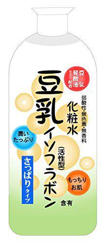 純ケミファ ジュンラブ 豆乳化粧水 さっぱりタイプ 480mlの画像