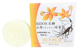 リドス RIDOS(リドス) 石鹸 山参培養根 本体 60g ハチミツの香り 1の画像