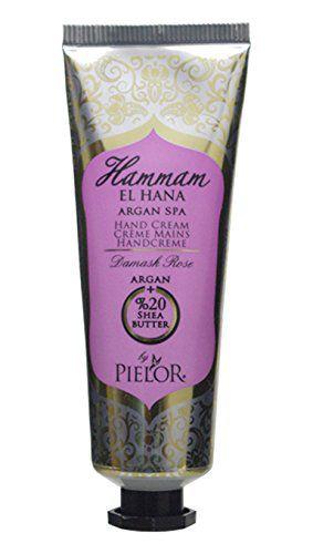 ピエロー PIELOR(ピエロー) ハマムエルハナ アルガンスパ ハンドクリーム ダマスクローズ 30ml 幸福感あふれるフェミニンな香りの画像