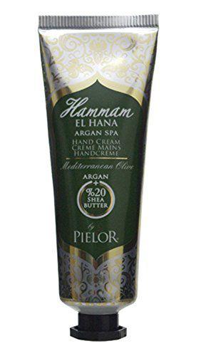 ピエロー PIELOR(ピエロー) ハマムエルハナ アルガンスパ ハンドクリーム メディテレーニアンオリーブ 30ml さわやかに広がるフレッシュな香りの画像
