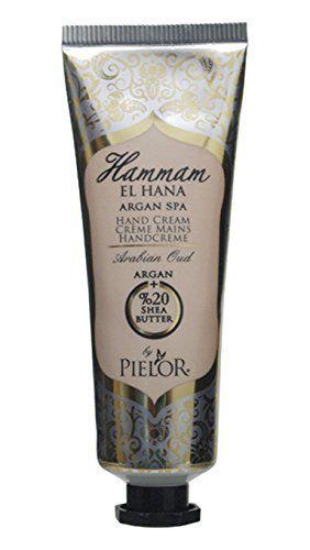 ピエロー PIELOR(ピエロー) ハマムエルハナ アルガンスパ ハンドクリーム アラビアンウード 30ml 異国情緒を感じるスパイシーな香りの画像