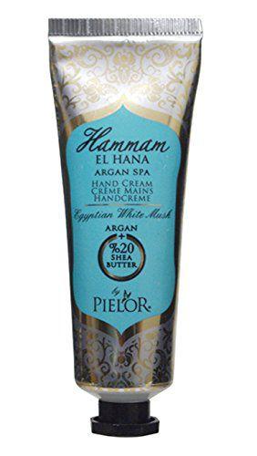 ピエロー PIELOR(ピエロー) ハマムエルハナ アルガンスパ ハンドクリーム エジプシャンホワイトムスク 30ml うっとりとろけるエレガントな香りの画像