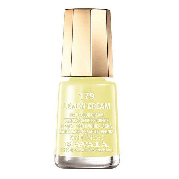 マヴァラのマヴァラ MAVALA ネイルカラー 179 レモンクリーム 5mlに関する画像1
