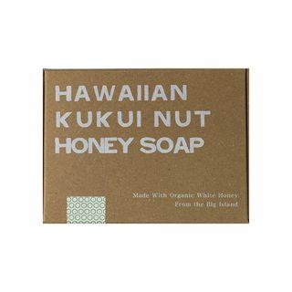 null ホワイトハニー White Honey オーガニクス ハワイアン ククイ ハニーソープ 92gの画像