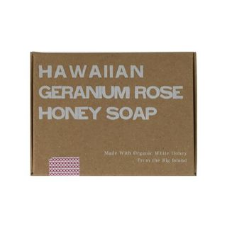 null ホワイトハニー White Honey オーガニクス ハワイアン ゼラニウムローズ ハニーソープ 92gの画像