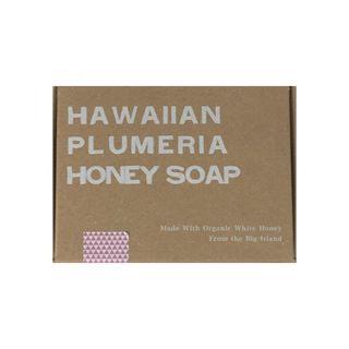 null ホワイトハニー White Honey オーガニクス ハワイアン プルメリア ハニーソープ 92gの画像