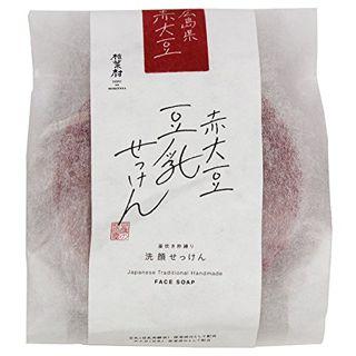 豆腐の盛田屋 豆腐の盛田屋 赤大豆豆乳せっけん自然生活 100gの画像