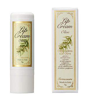 尿素とヒアルロン酸 テラクオーレ Terracuore オリーブ リップクリーム 5g オリーブの香りの画像