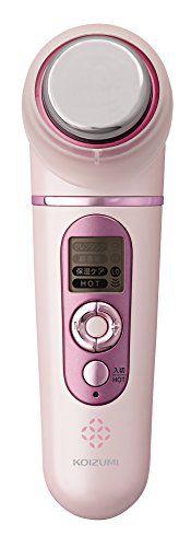 コイズミ KOIZUMI(コイズミ) 超音波美顔器 ピンクの画像