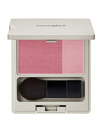 ナチュラグラッセ ナチュラグラッセ naturaglace チークブラッシュ 本体 【01 ピンク】ピュアでかわいらしいイメージに 3.1gの画像