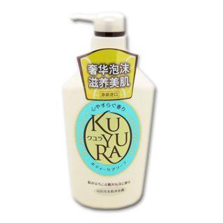 クユラ ボディーケアソープ 心やすらぐ香り 550mlの画像
