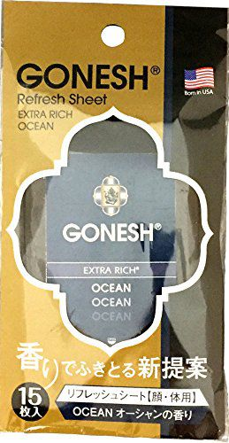 GONESH GONESH(海外) GONESHリフレッシュシ-トOCEAN 15枚入の画像