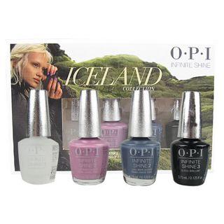 オーピーアイ オーピーアイ O・P・I アイスランド コレクション インフィニット シャイン ミニパック 各3.75mLの画像