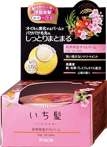いち髪のいち髪 Ichikami 和草保湿オイルバーム 30gに関する画像1