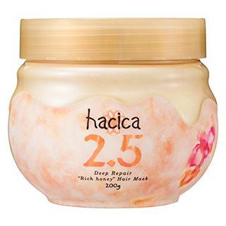 ハチカ hacica(ハチカ) ディープリペア 濃蜜ヘアマスク2.5 本体 200gの画像