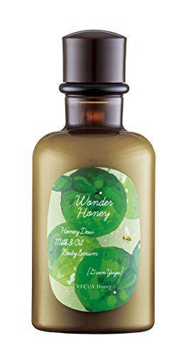 ベキュアハニー ベキュア ハニー ワンダーハニー ミルクオイルの潤いボディセラム 190mL グリーン柚子の画像