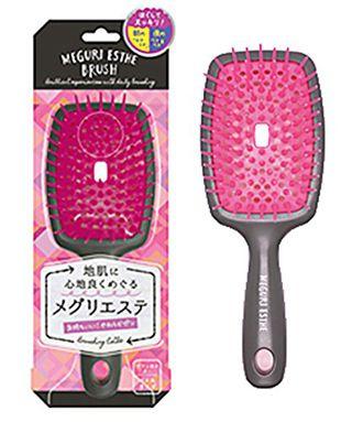 ラッキーウィンク ラッキーウィンク メグリエステブラシ パドル ピンクの画像