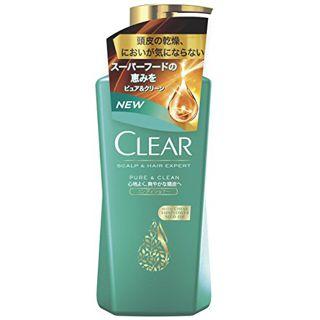 CLEAR クリア CLEAR ピュア&クリーンコンディショナー 本体 370gの画像