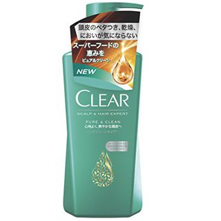 CLEAR クリア CLEAR ピュア&クリーンシャンプー 本体 370gの画像