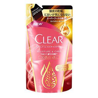 CLEAR クリア CLEAR モイスチャー&ケアコンディショナー 詰替え 300gの画像