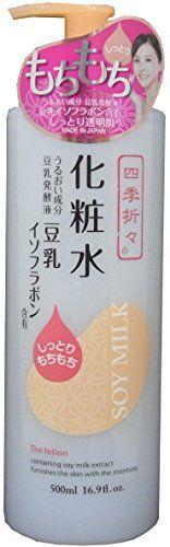 四季折々  豆乳イソフラボン化粧水 500mlの画像