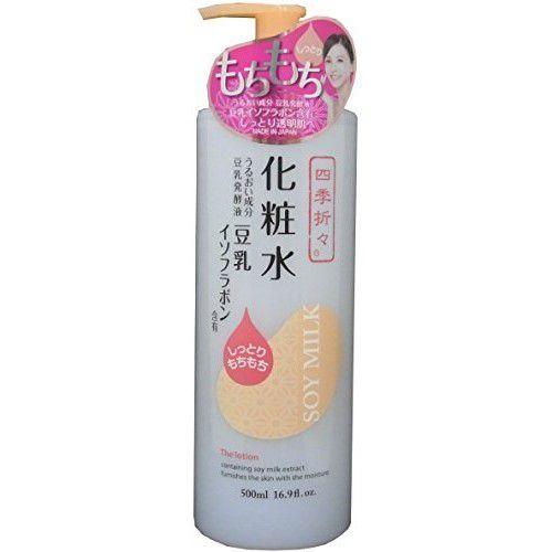 四季折々の豆乳イソフラボン化粧水 500mlに関する画像1