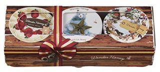 ベキュアハニー ベキュア ハニー ワンダーハニー 濃蜜マルシェのクリームバーム ギフト 37g×3種 花はちみつの画像