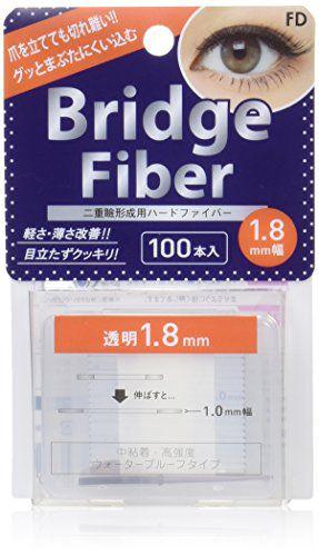 CLEAR FD(エフディ) FDブリッジファイバーI I クリア/1.8mm 100本の画像