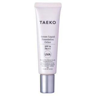 TAEKO タエコ TAEKO 美容液ファンデーション SPF16 PA++ 本体 【オークル】健康的でやさしい褐色の肌色 30gの画像
