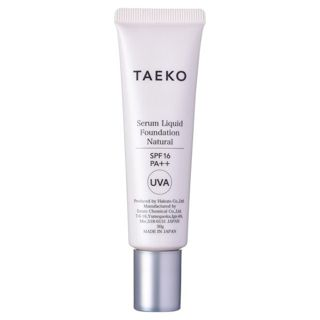 TAEKO タエコ TAEKO 美容液ファンデーション SPF16 PA++ 本体 【ナチュラル】自然で標準的な肌色 30gの画像