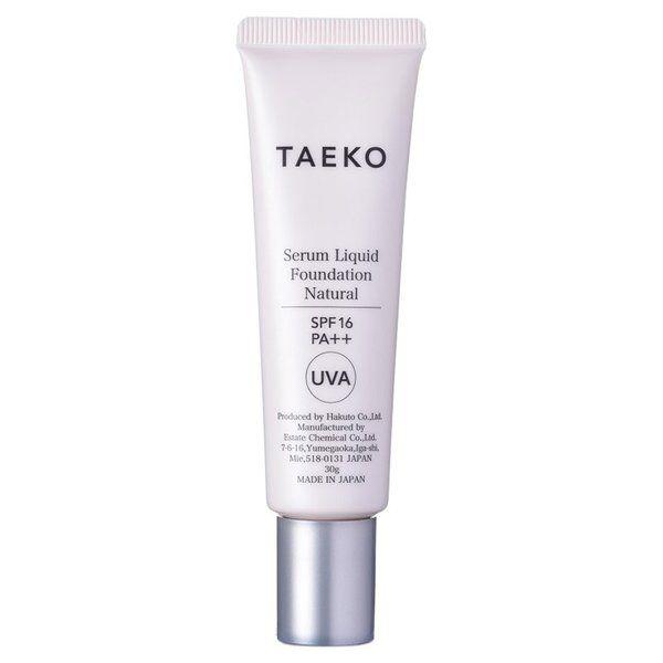 TAEKOのタエコ TAEKO 美容液ファンデーション SPF16 PA++ 本体 【ナチュラル】自然で標準的な肌色 30gに関する画像1