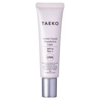 TAEKO タエコ TAEKO 美容液ファンデーション SPF16 PA++ 本体 【ライト】色白で明るい肌色 30gの画像