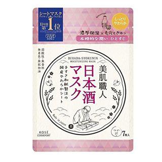 クリアターン クリアターン CLEAR TURN 美肌職人日本酒マスク 7枚の画像