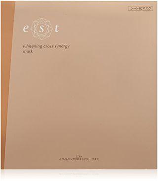 エスト エスト est ホワイトニングクロスシナジーマスク 1枚の画像