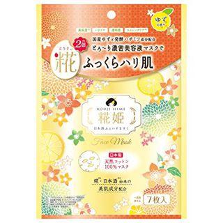 null シースタイル 糀姫ふぇいすますく ゆずの香り 7枚入の画像