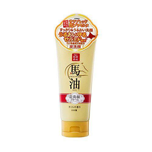 リシャンのリシャン 馬油&炭洗顔フォーム さくらの香り 130gに関する画像1