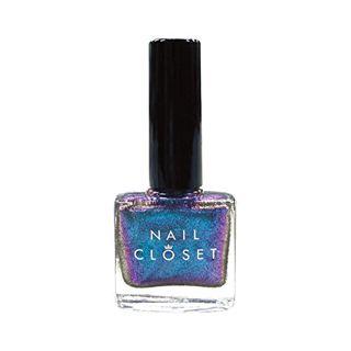 NAIL CLOSET NAIL CLOSET オーロラネイルポリッシュ OL-BL ブルーの画像