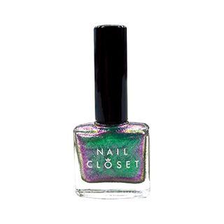 NAIL CLOSET NAIL CLOSET オーロラネイルポリッシュ OL-GN グリーンの画像