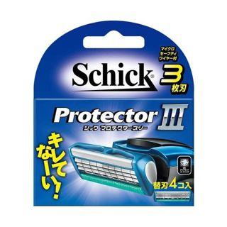 シック シック Schick プロテクタースリー替刃 替刃 4個入りの画像