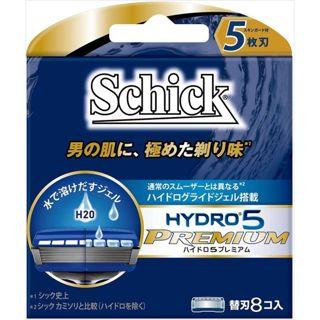 シック シック Schick ハイドロ5プレミアム 替刃 替刃 8個入りの画像