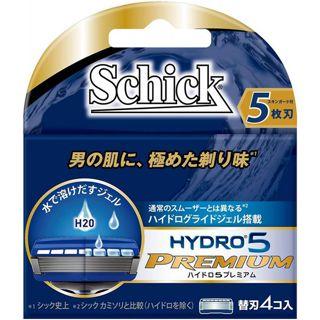 シック シック Schick ハイドロ5プレミアム 替刃 替刃 4個入りの画像