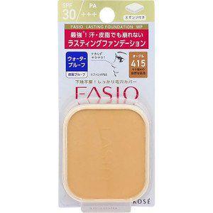 ファシオ ファシオ Fasio ラスティング ファンデーション WP SPF30 PA+++ オークル・415 10gの画像