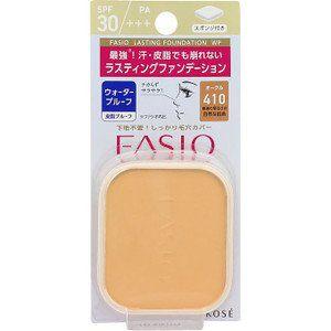 ファシオ ファシオ Fasio ラスティング ファンデーション WP SPF30 PA+++ オークル・410 10gの画像