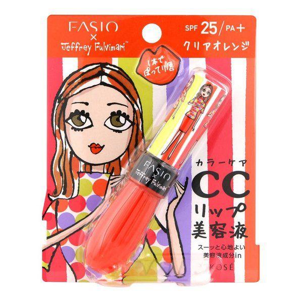 ファシオのファシオ Fasio フルプランプ リップエッセンス CC II SPF25 PA+ クリアオレンジ・003 6gに関する画像1